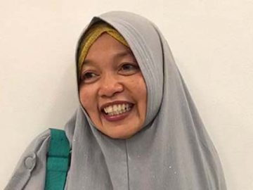 Ibu Mahdiah, Guru MTS Tsanawiyah Palopo